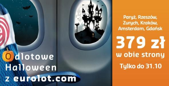 Promocja na Halloween od Eurolot.com