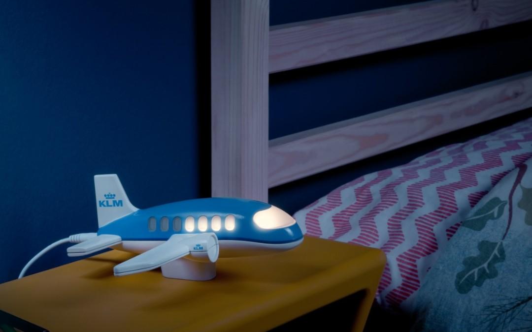 Pomysłowa lampka nocna od KLM