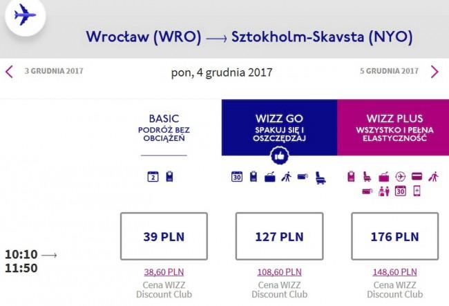 Wrocław - Sztokholm
