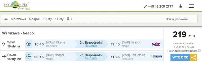 Lot do Neapolu