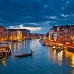 Canal Grande nocą