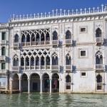"""Pałac Ca' d'Oro - """"złoty pałac"""" położony nad Canal Grande w dzielnicy Cannaregio"""