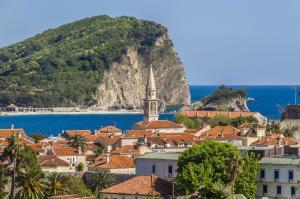Budva – najpopularniejszy kurort Czarnogóry.
