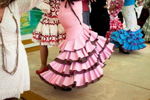 Kwietniowy Jarmark - Feria de Abril to największa, folklorystyczna impreza w Andaluzji.