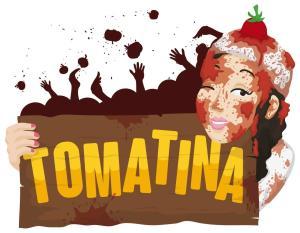 """La Tomatina - słynna, """"krwawa"""" bitwa na pomidory"""