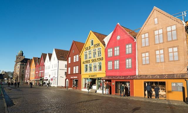 Bergen – stolica państwa fiordów – loty za 1027 zł!