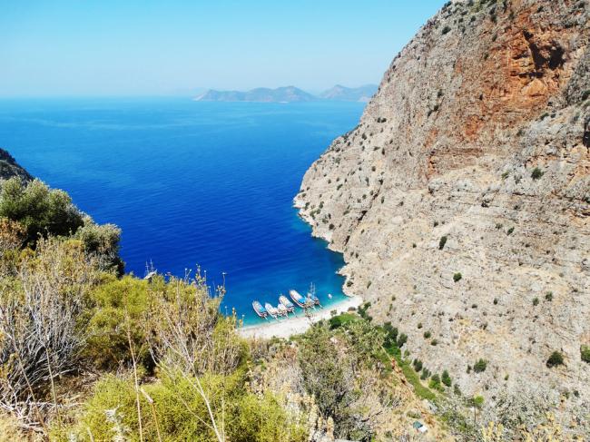 Dolina Motyli to przepiękna zatoka w południowo-zachodniej Turcji, położona u podnóża góry Babadağ.
