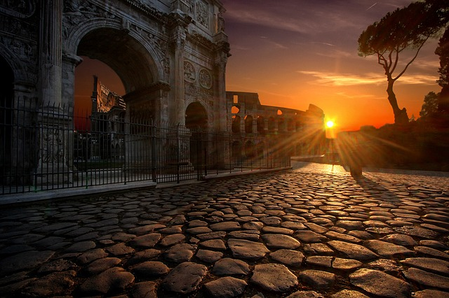 Romantyczny pobyt w Rzymie