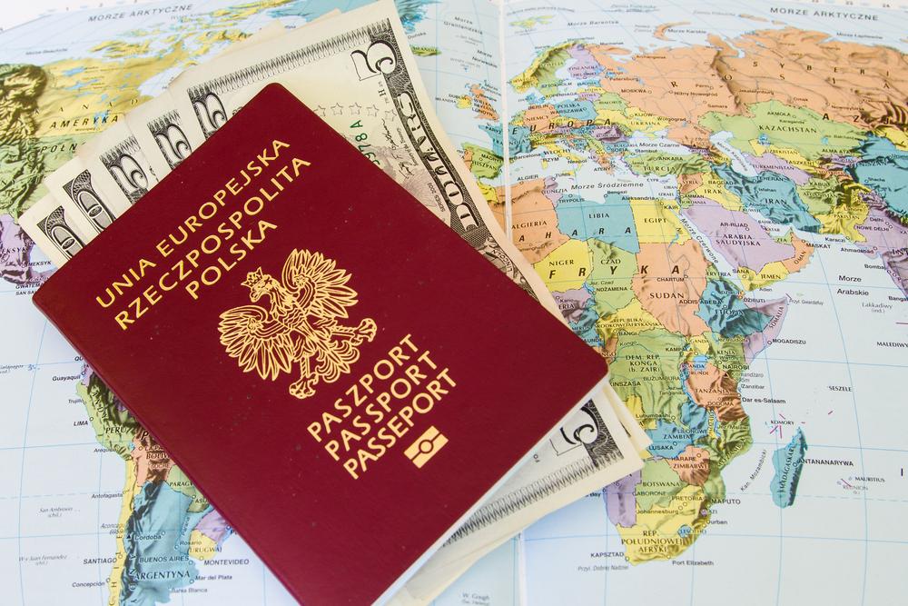 Paszport przepustką do zagranicznych wojaży