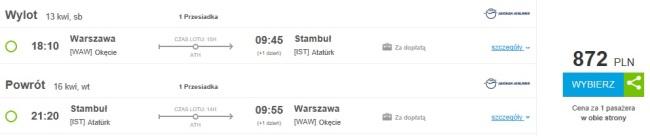 Turcja-loty