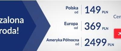 LOT Szalona Środa: Polska od 149 zł/os, Europa od 369 zł/os, Kalifornia od 2499 zł/os