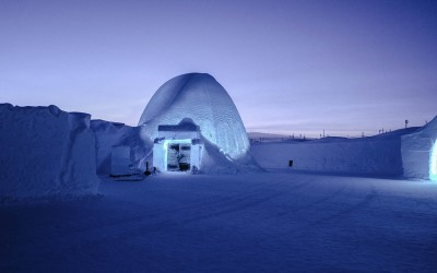 Noc w lodowym hotelu?